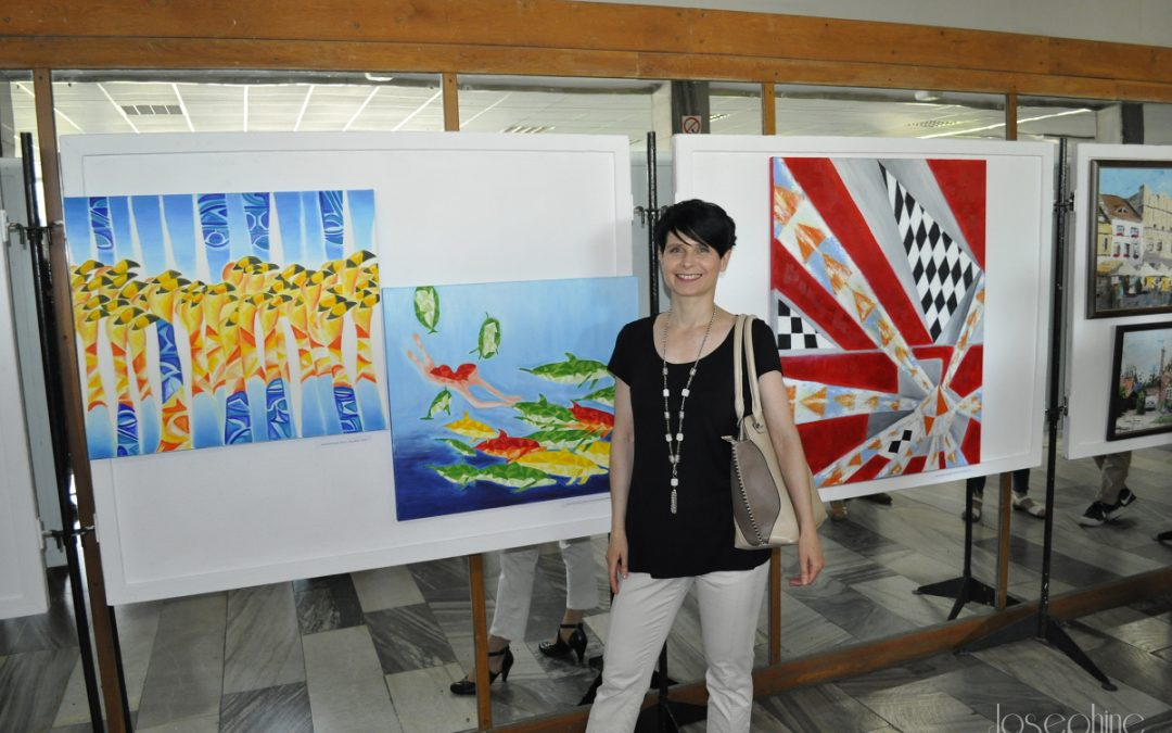 Wystawa obrazów w Puławskim Ośrodku Kultury
