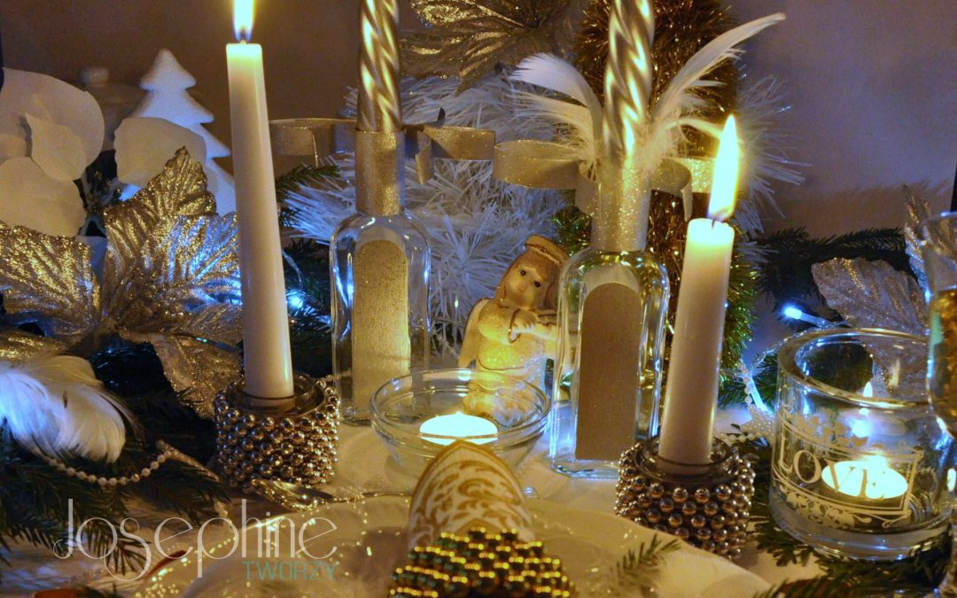 Nie zapomniane Święta przy blasku świec. Ozdoby z upcyklingu część 2.