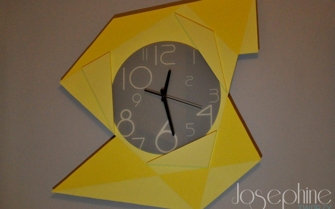 Jak zrobić designerski zegar na ścianę.
