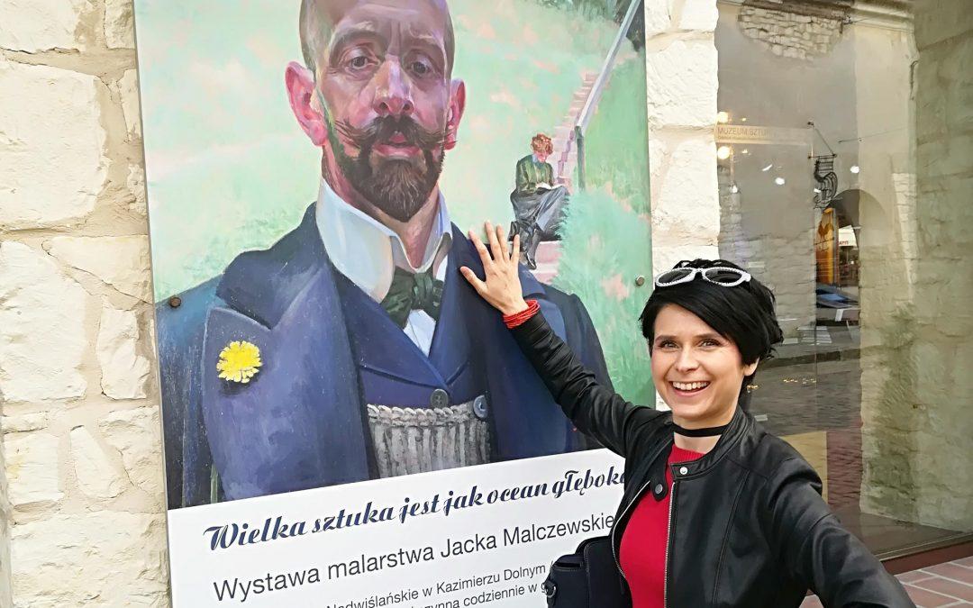 Wystawa malarstwa Jacka Malczewskiego w Kazimerzu Dolnym